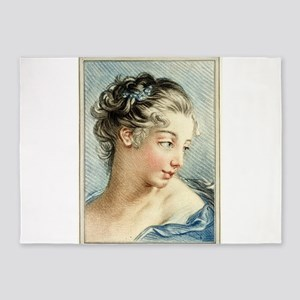 Head-and-shoulders portrait of a young woman - Lou