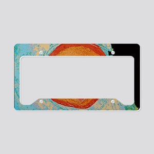Coloured LM of occluded human License Plate Holder