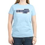 Intl Fencing Blue ver. Women's Light T-Shirt