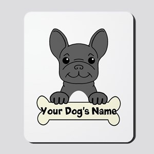 Personalized French Bulldog Mousepad