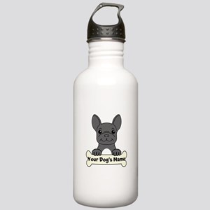 Personalized French Bu Stainless Water Bottle 1.0L