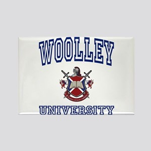 WOOLLEY University Rectangle Magnet