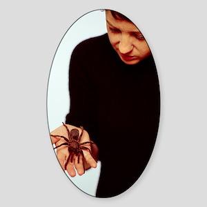 Pet tarantula Sticker (Oval)