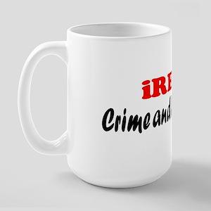 iREAD Crime and Punishment Large Mug