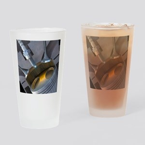 Petrol engine Drinking Glass
