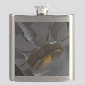 Petrol engine Flask