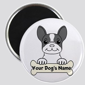 Personalized French Bulldog Magnet Magnets