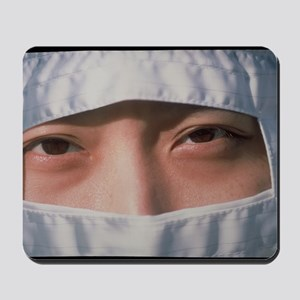 Pharmaceutical technician in clean room  Mousepad