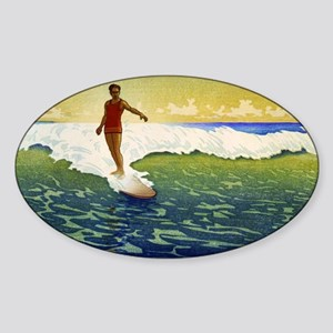 Hawaii - Charles William Bartlett - 1918 Sticker