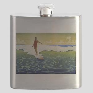 Hawaii - Charles William Bartlett - 1918 Flask