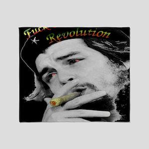 Anti Revolution Throw Blanket