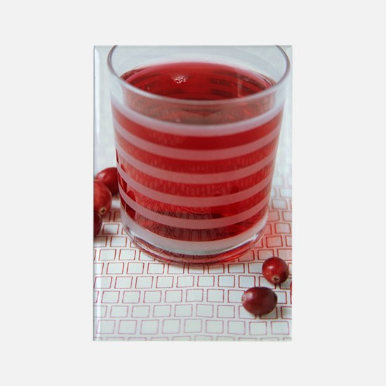 Cranberry juice Rectangle Magnet