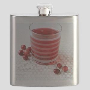 Cranberry juice Flask