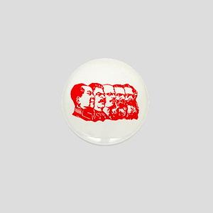 Mao,Stalin,Lenin,Engels,Marx Mini Button