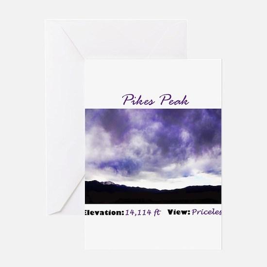 Pikes Peak Priceless Greeting Cards