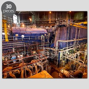 Power station turbine hall Puzzle