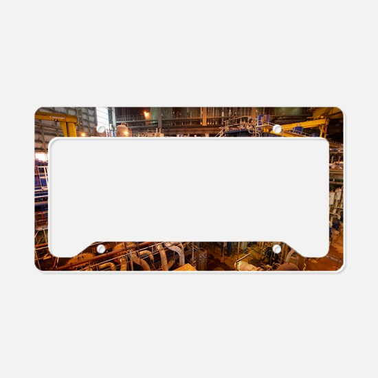 Power station turbine hall License Plate Holder