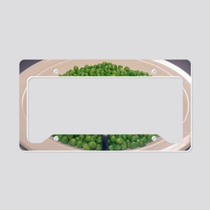 Cooked peas License Plate Holder