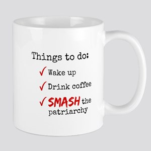 Smash The Patriarchy Mug (white) Mugs