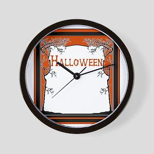 Bone Chilling Halloween insert Wall Clock