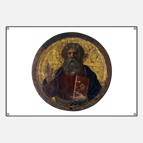 God the Father - Masolino da Panicale Banner