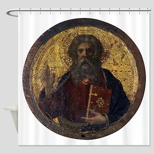 God the Father - Masolino da Panicale Shower Curta