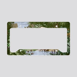 Dioscorides, Ancient Greek ph License Plate Holder