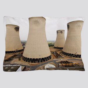 Power station cooling towers Pillow Case