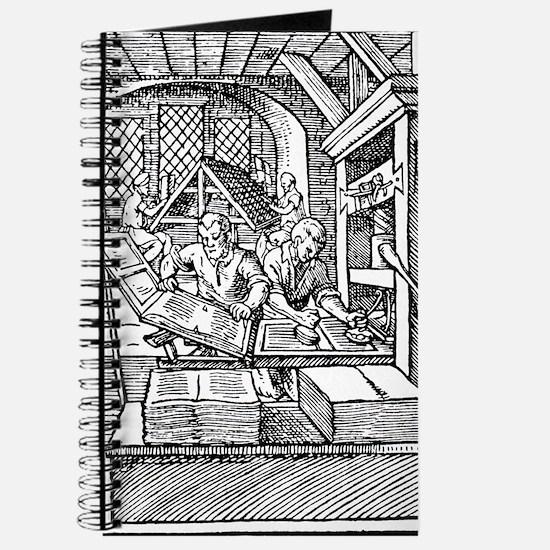 Printing press, 16th century Journal