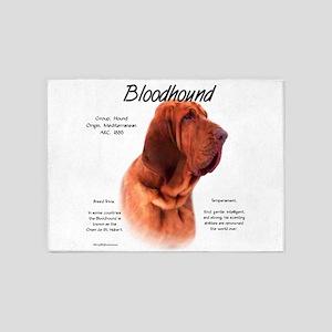 Bloodhound 5'x7'Area Rug