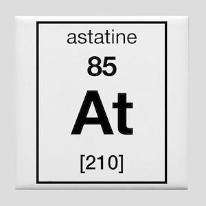 Periodic table astatine coasters cafepress astatine tile coaster urtaz Image collections