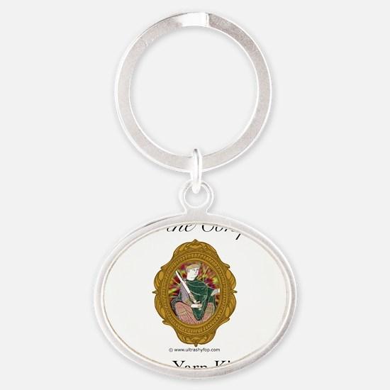 William the Conqueror Oval Keychain