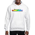 Married in Massachusetts Hooded Sweatshirt