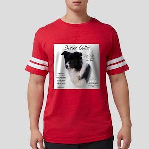 Border Collie Mens Football Shirt