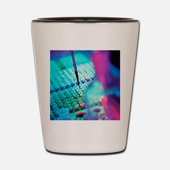 DNA analysis Shot Glass