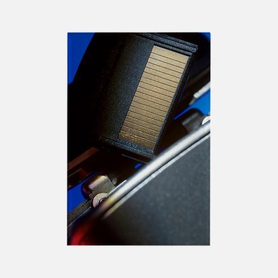 Digital camera and memory card Rectangle Magnet