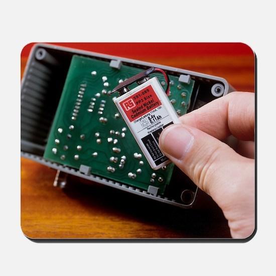 Rechargeable battery Mousepad