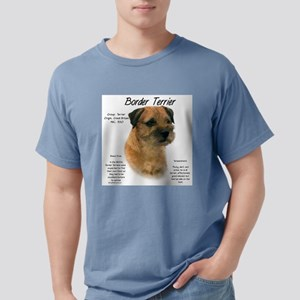 Border Terrier Mens Comfort Colors Shirt