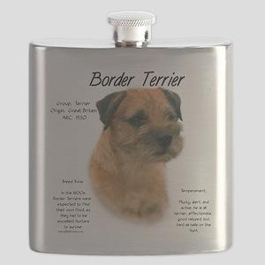 Border Terrier Flask