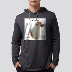 Borzoi Mens Hooded Shirt