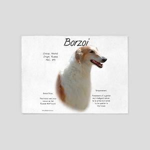 Borzoi 5'x7'Area Rug