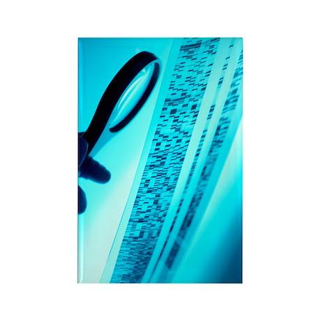 DNA analysis Rectangle Magnet