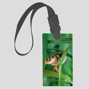 Red-legged pan frog Large Luggage Tag