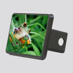Red-eyed tree frog Rectangular Hitch Cover