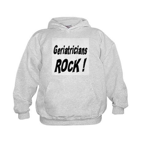Geriatricians Rock ! Kids Hoodie