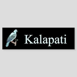 Kalapati (Dove) Gifts Bumper Sticker
