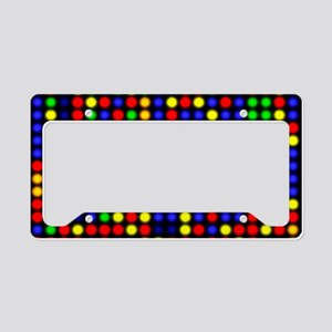 DNA microarray License Plate Holder