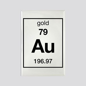 Periodic table gold magnets cafepress gold rectangle magnet urtaz Gallery