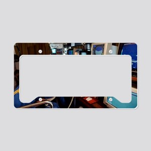 Research vessel control room License Plate Holder