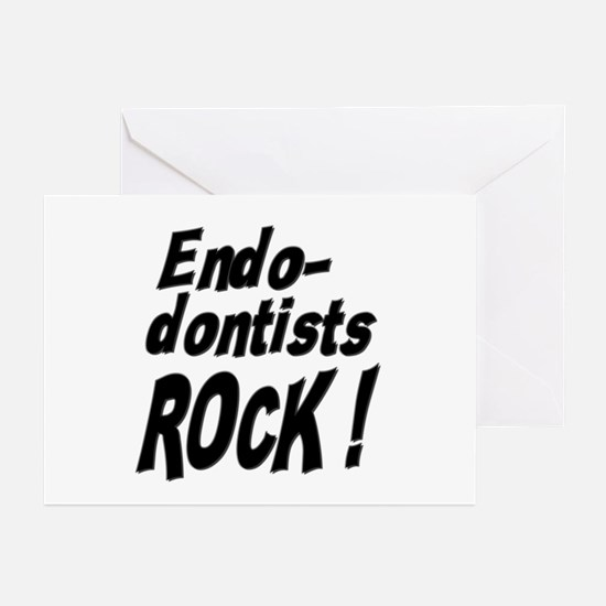 Endodontists Rock ! Greeting Cards (Pk of 10)